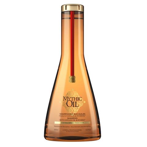 L'Oreal Professionnel Mythic Oil: Питательный шампунь для плотных волос (Mythic Oil Shampoo for Thick Hair), 250мл