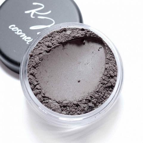 Минеральная пудра для бровей BS4 Черно-коричневый  1.5гр (Kristall Minerals Cosmetics)