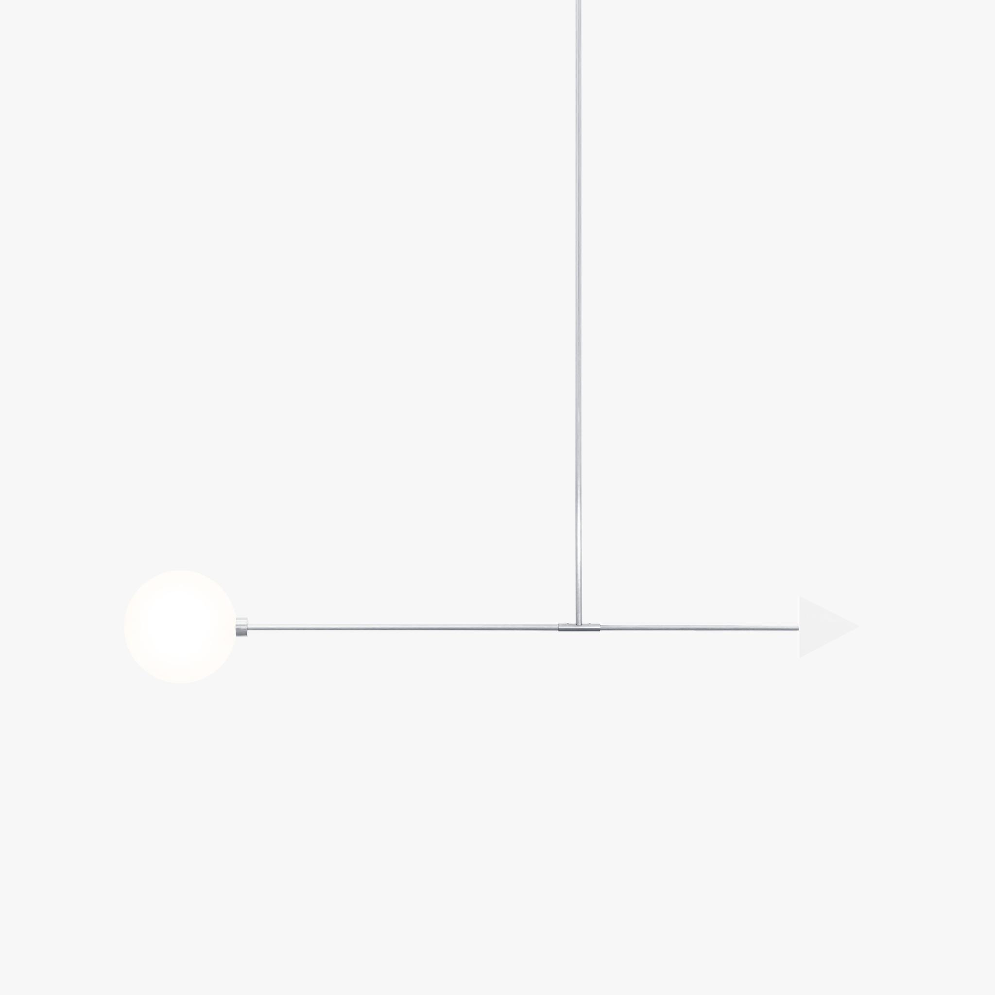Подвесной светильник Libra trig белый мрамор - вид 5