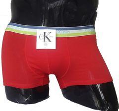 Мужские трусы хипсы хлопок красные CK NWG Red Trunks