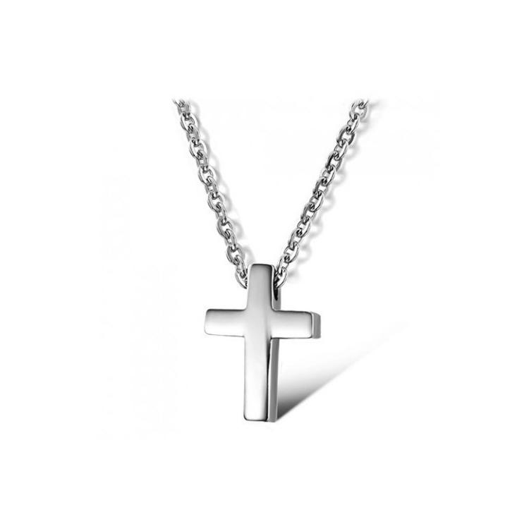 Миниатюрный крестик унисекс с цепочкой Steelman mn00773