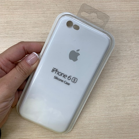Чехол iPhone 6S Silicone Slim Case /white/