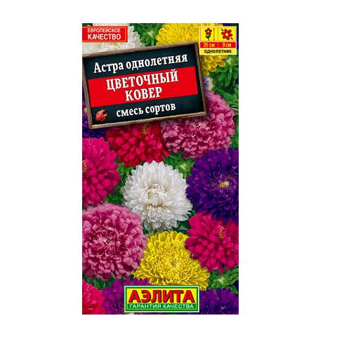 Астра Цветочный ковер, смесь сортов (Аэлита)