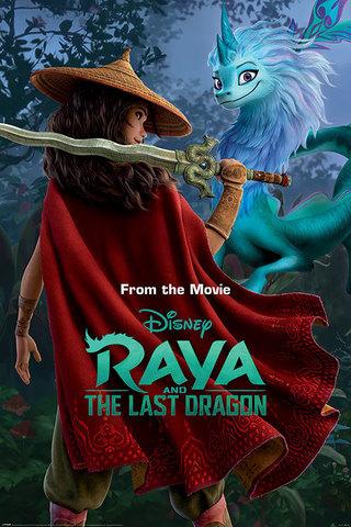 Постер Raya and the Last Dragon (Warrior in the Wild) 238-FP4725