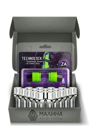 Готовый набор из колёсных болтов М14x1.5 и комплекта секреткок TECHNOLOCK ZA