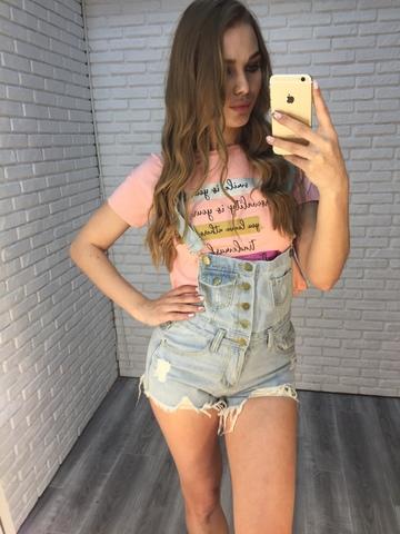 джинсовый комбинезон шорты женский nadya