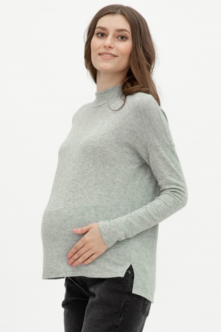 Джемпер для беременных 09925 меланж