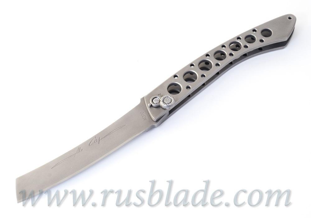 Custom Urakov Al Capone M390 knife