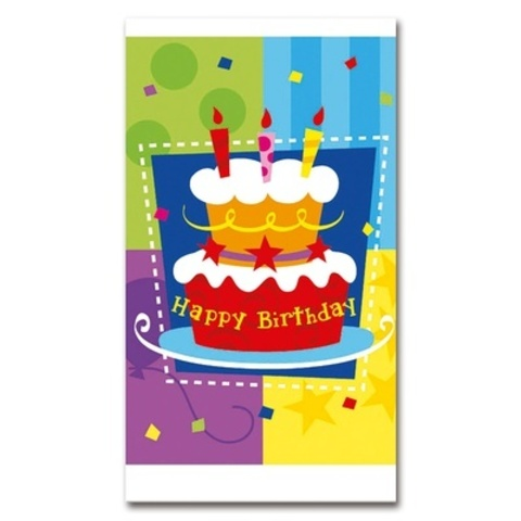 Скатерть Торт Birthday 140х180см