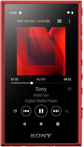 NW-A105R Hi-Res плеер Sony, 16Gb, цвет красный