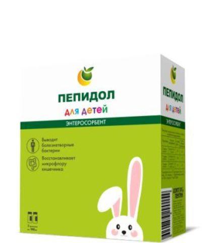 Пепидол ПЭГ 3проц р-р 2х100мл для детей