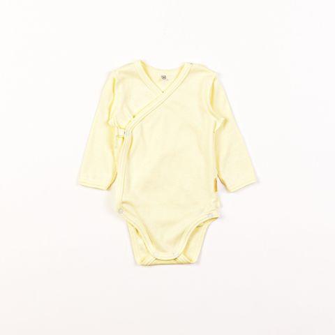 Kimono long-sleeved bodysuit 0+, Mimosa