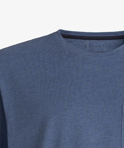 Пижама мужская с шортами NMP-343 100% хлопок