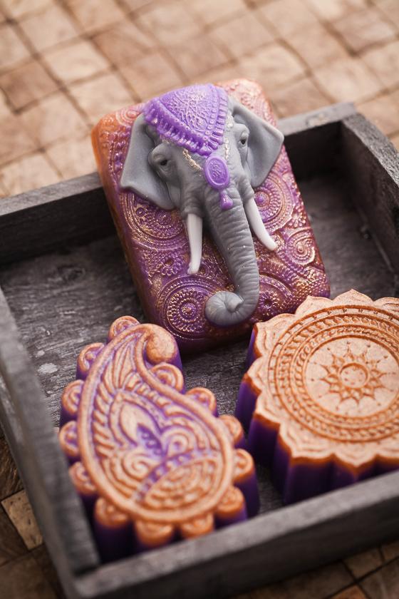 Мыло Слон индийский. Форма пластиковая