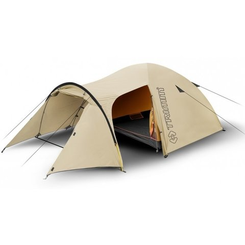 Кемпинговая палатка Trimm Trekking FOCUS, 3+1 (песочная)