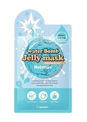 БР Маска на тканевой основе для лица с желе увлажняющая Berrisom water Bomb Jelly mask - moisture 33