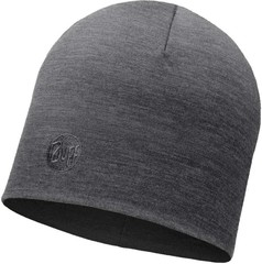 Теплая шерстяная шапка Buff Solid Grey