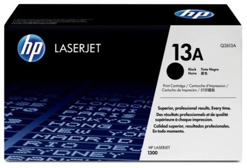 Оригинальный картридж HP Q2613A 13A черный