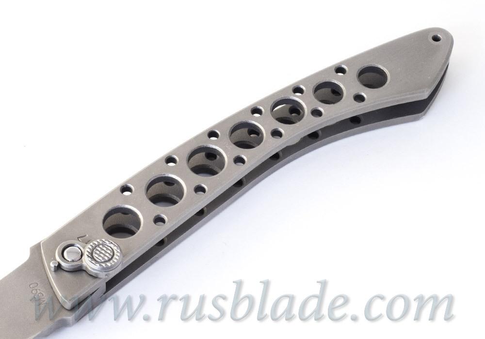 Custom Urakov Al Capone M390 knife - фотография