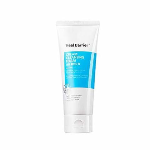 Купить Real Barrier Cream Cleansing Foam - Очищающая пенка мягкого действия с PН 5.5