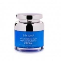 LA SOYUL Hyaluronic Acid Deep Moisturizing Cream / Крем с гиалуроновой кислотой для глубокого увлажнения кожи, 50 г