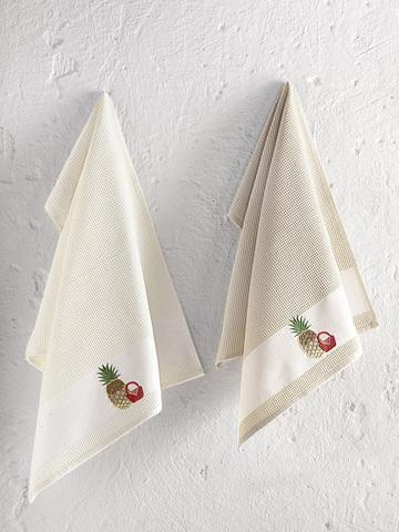Кухонные вафельные полотенца