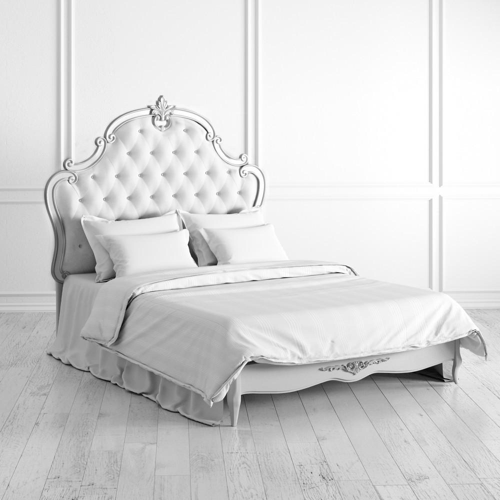 Кровать с мягким изголовьем 140*200