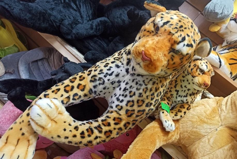 леопард огромный 120