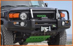 BBCD037 Силовой бампер Delux Black Commercial Toyota FJ Cruiser