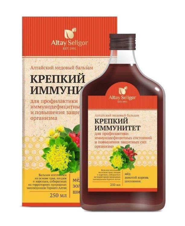 Алтайский медовый бальзам  Крепкий иммунитет фото1