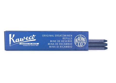 Набор грифелей для карандашей 5.6мм синих 3 штуки в картонной упаковке