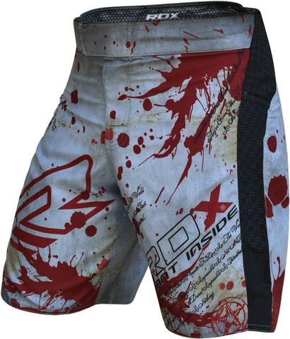 Шорты RDX MMA Grappling Shorts Revenge Series Blood