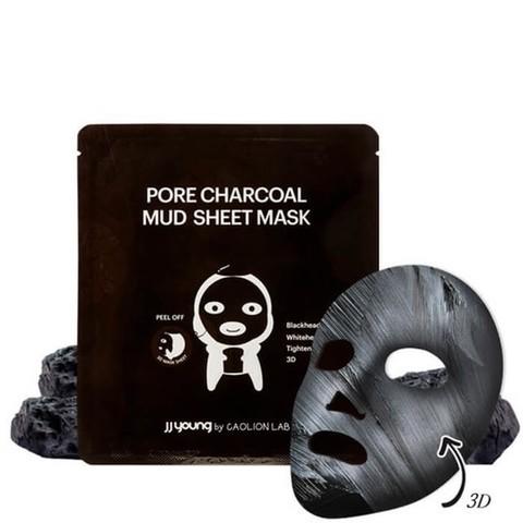 Глиняная маска от черных точек с углем