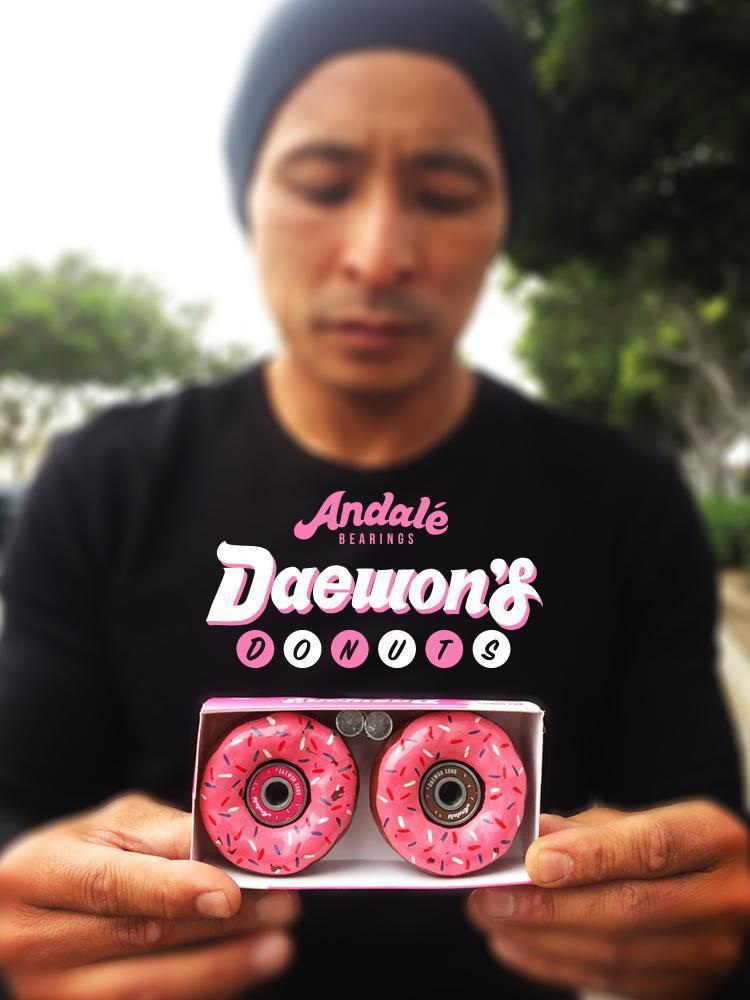 Подшипники для скейта ANDALE Daewon Song Donut