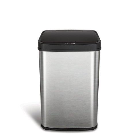 Умное мусорное ведро Xiaomi Ninestars Stainless steel Sensor Trash Can 15 L (DZT-15-5) серебристый