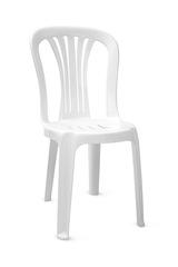 Пластиковый стул белый
