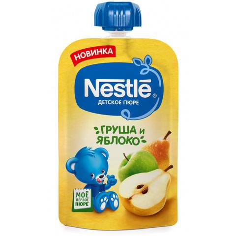Фруктовое пюре «Груша и яблоко» Nestlé