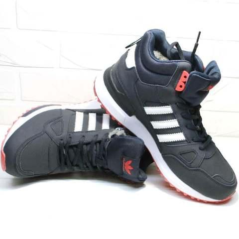 Зимние кроссовки ботинки адидас мужские