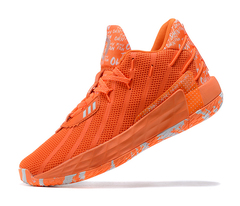 adidas Dame 7 'Orange/Light Green'