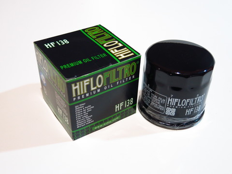 Фильтр масляный Hiflo HF 138 Suzuki gsf 1200