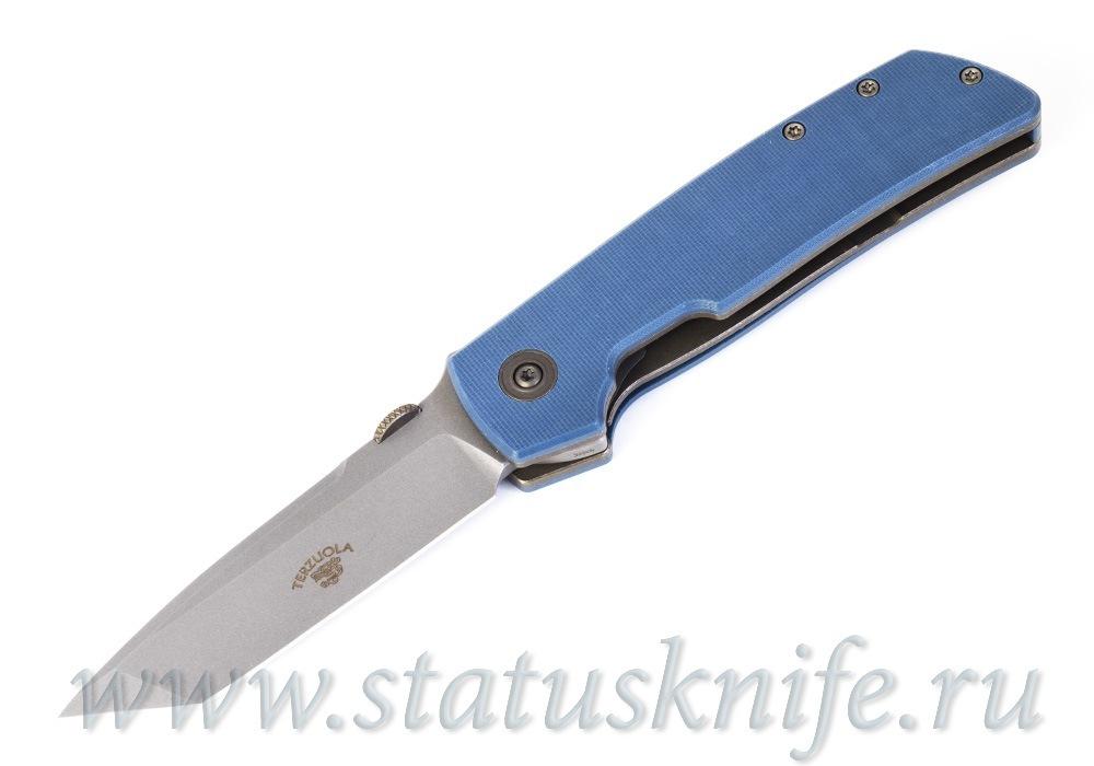 Нож Bob Terzuola ATCF Tanto Slate Blue Drop