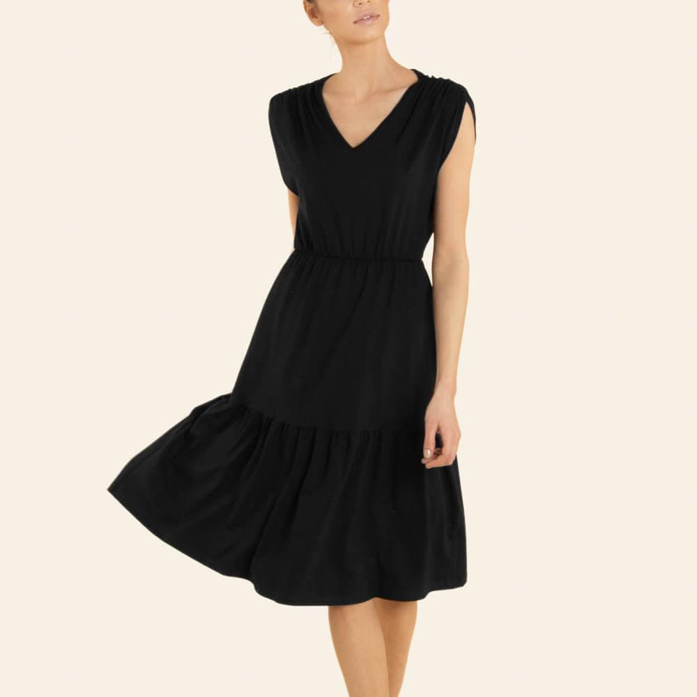 Женское пляжное платье E21K-52E107