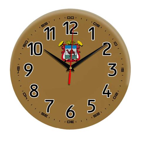 Интерьерные часы герб Челябинск 11