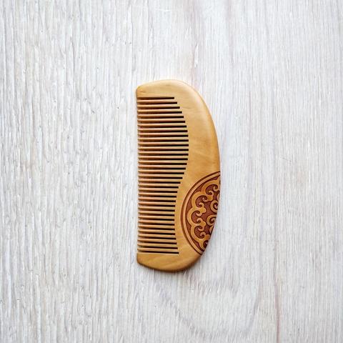 Расческа деревянная, 130*55 мм