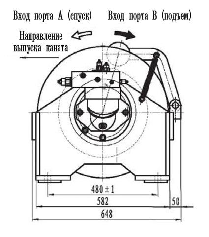 Стандартная лебедка IYJ23-40-144-16-ZPG
