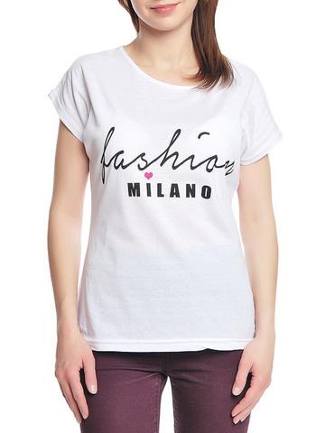 37662-2-3 футболка женская, белая