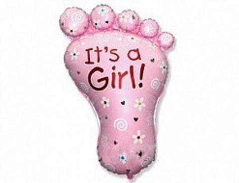 Ножка девочки