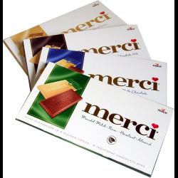 Шоколад Мерси в ассортименте заказ доставка купить Пермь