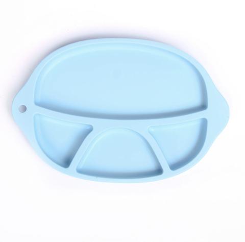 Тарелка детская силиконовая 4 секции Mum&Baby