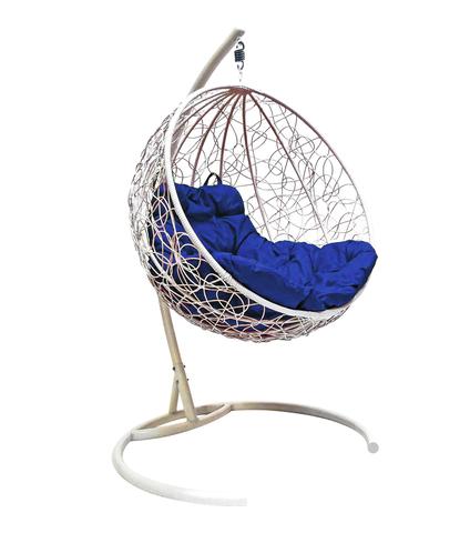 Кресло подвесное Milagro white/blue